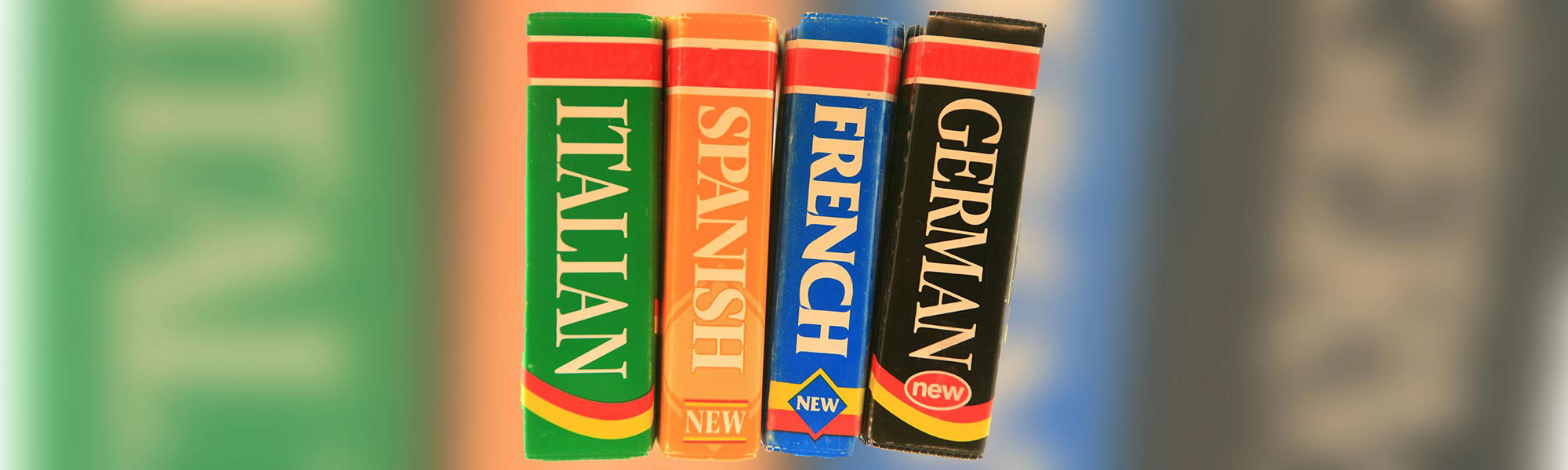 Dictionaries - French, German, Italian, Spanish