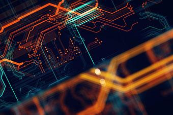 Computing graphic concept